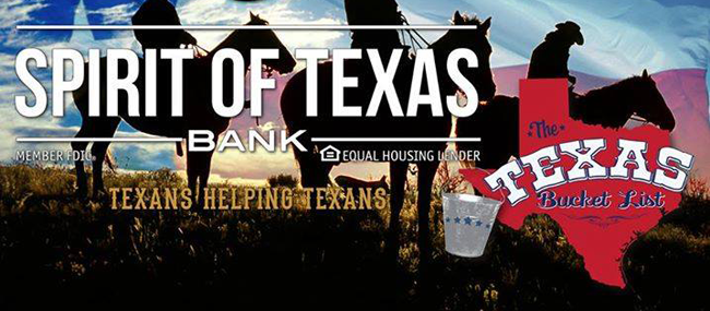 Spirit of Texas Bank Gift
