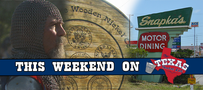 This weekend on The Texas Bucket List