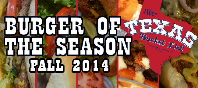 This Weekend on The Texas Bucket List – The Burger of the Season