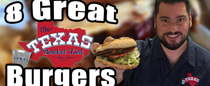 8 Great Burgers Promo